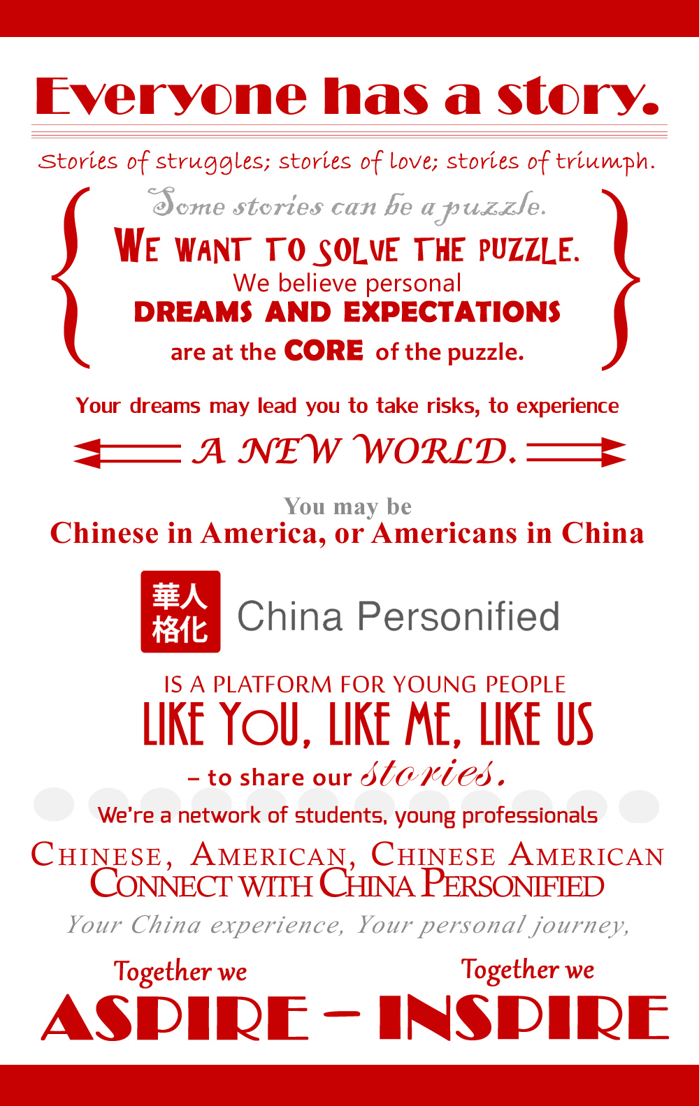 China Personified Vision