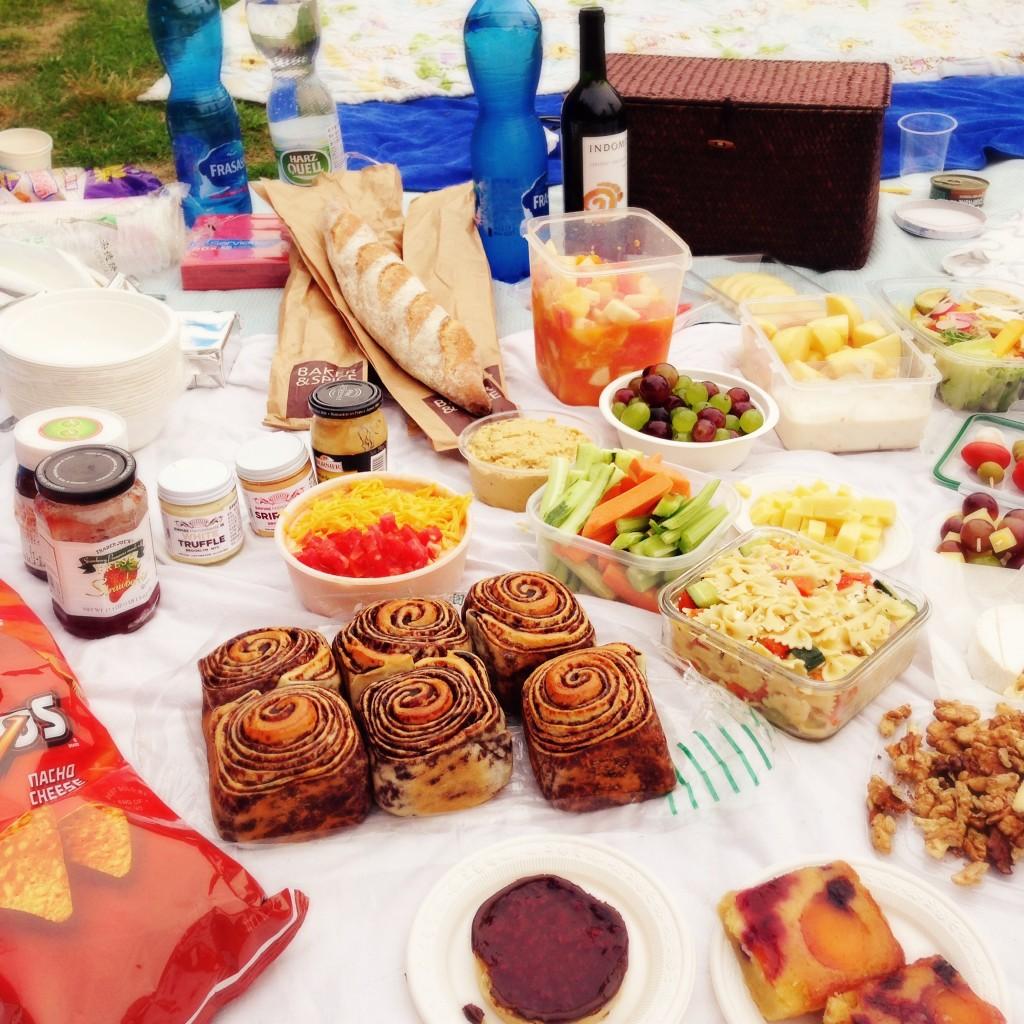 Serious picnic spread!