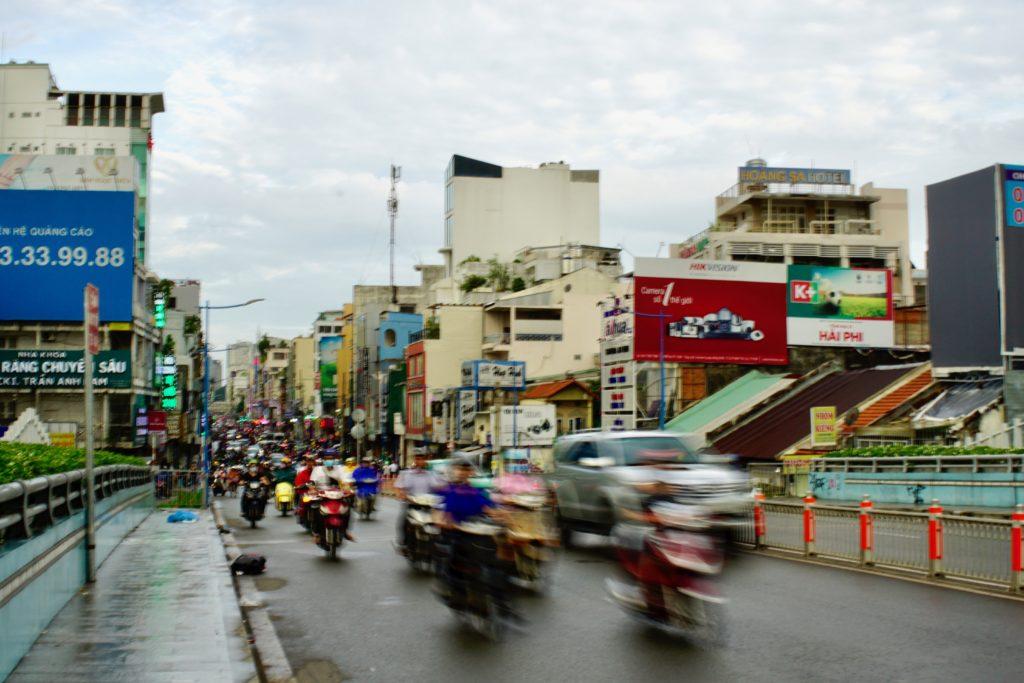 Saigon Chronicle – Week 1: Traffic  Noise  Heat  - One in a